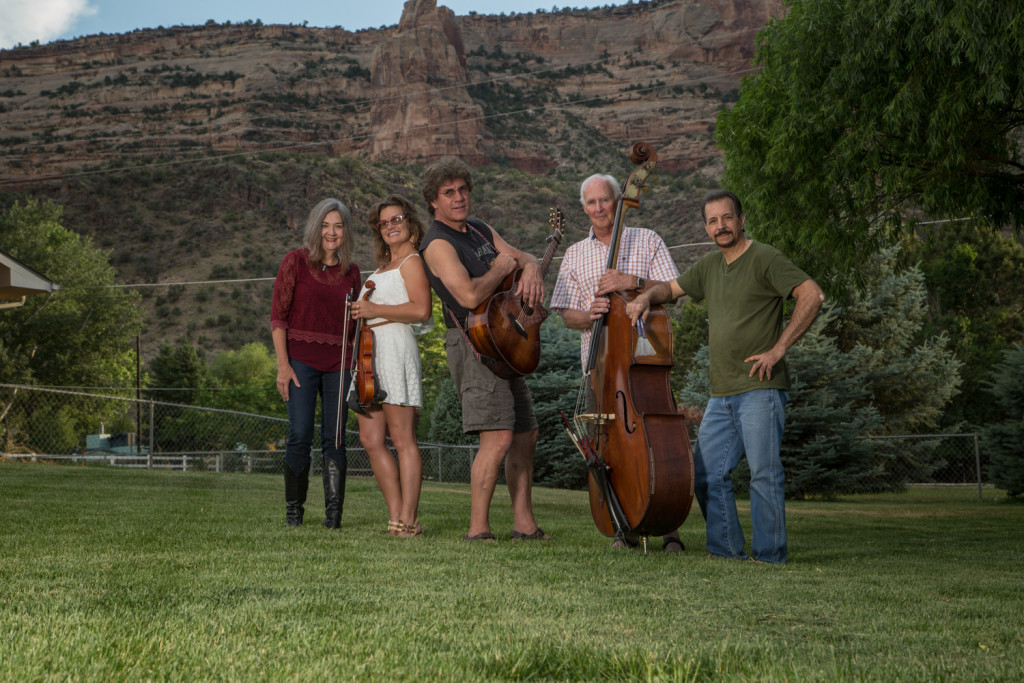 Ken Dravis and Eagle River, June 8, 2016. Cherry Odelberg, Allison Kitto, Ken, Bill Schneider, Joe Tallucci. Photo by Kevin Decker
