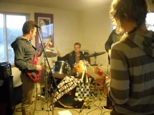 Kevin, Philip, Andrea